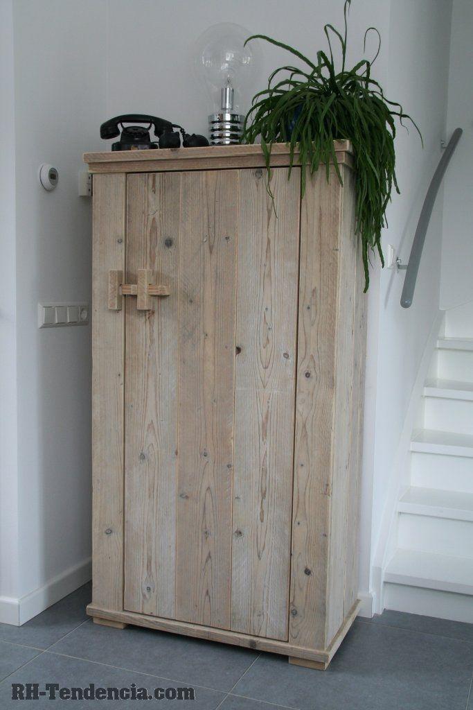 Kast steigerhout google zoeken crafts pinterest kast zoeken en google - Kleine kledingkast ...