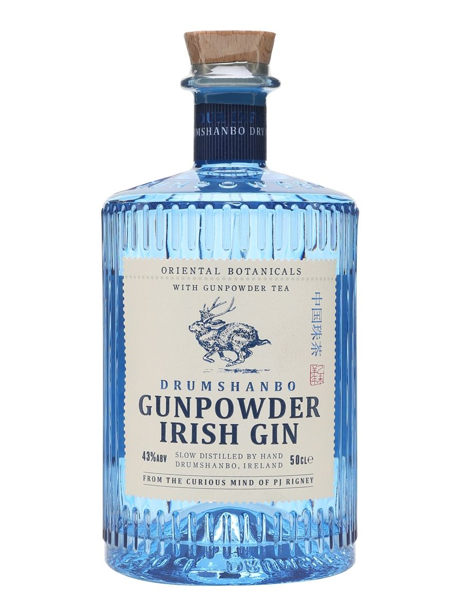 how to serve gunpowder gin