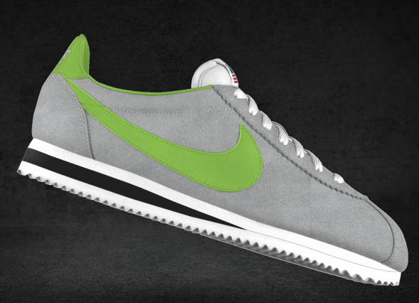 Grey & Lime I still miss my kelly greenwhite leather Nike