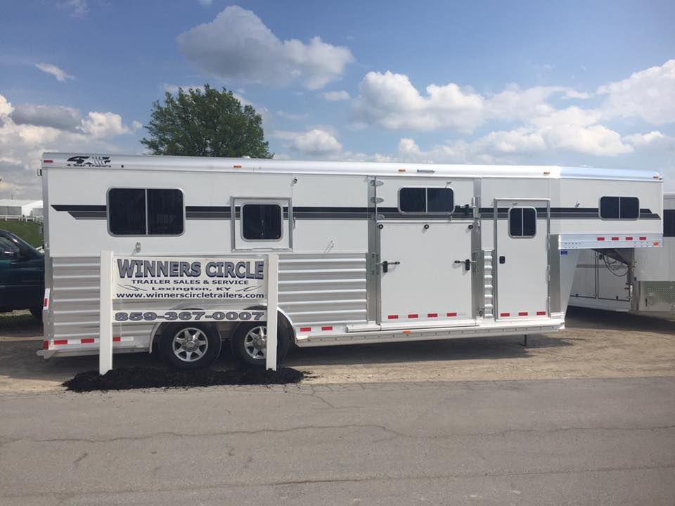 Stop by the Kentucky Horse Park and see the line of 4-Star Trailers on display for the Rolex Kentucky Three-Day Event by Winners Circle Trailer Sales!! April 28-May 1, 2016