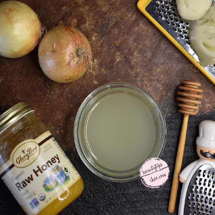 Onion juice for thinning hair   Hairstyles for thin hair. Thin natural hair. Homemade hair growth serum