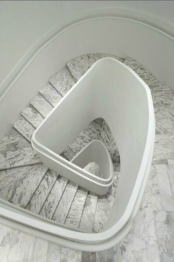 rounded triangle? Carrera marble love! | Interior Design ...