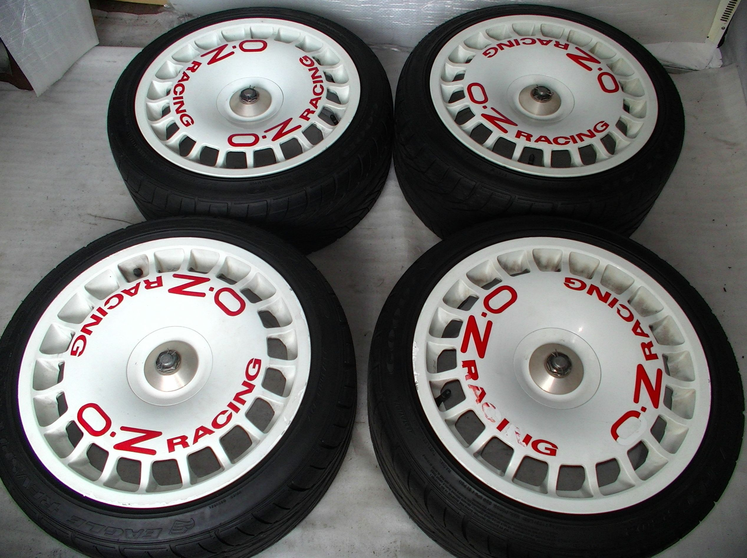 Oz Rallye Racing Racing Wheel Rims For Cars Racing Rims