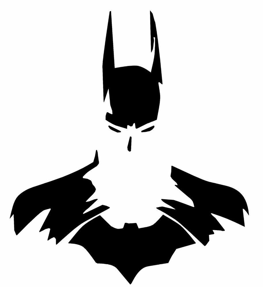 BATMAN /& SUPERMAN SILHOUETTE VINYL DECAL STICKER CAR//VAN//WALL//LAPTOP//TABLET