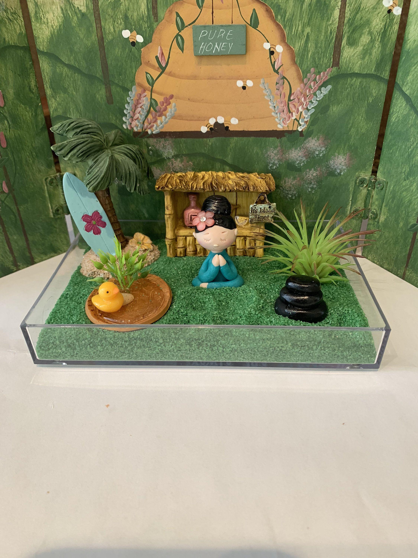 Zen Garden Sensory Garden Mindfulness Meditation Yoga Sand Box