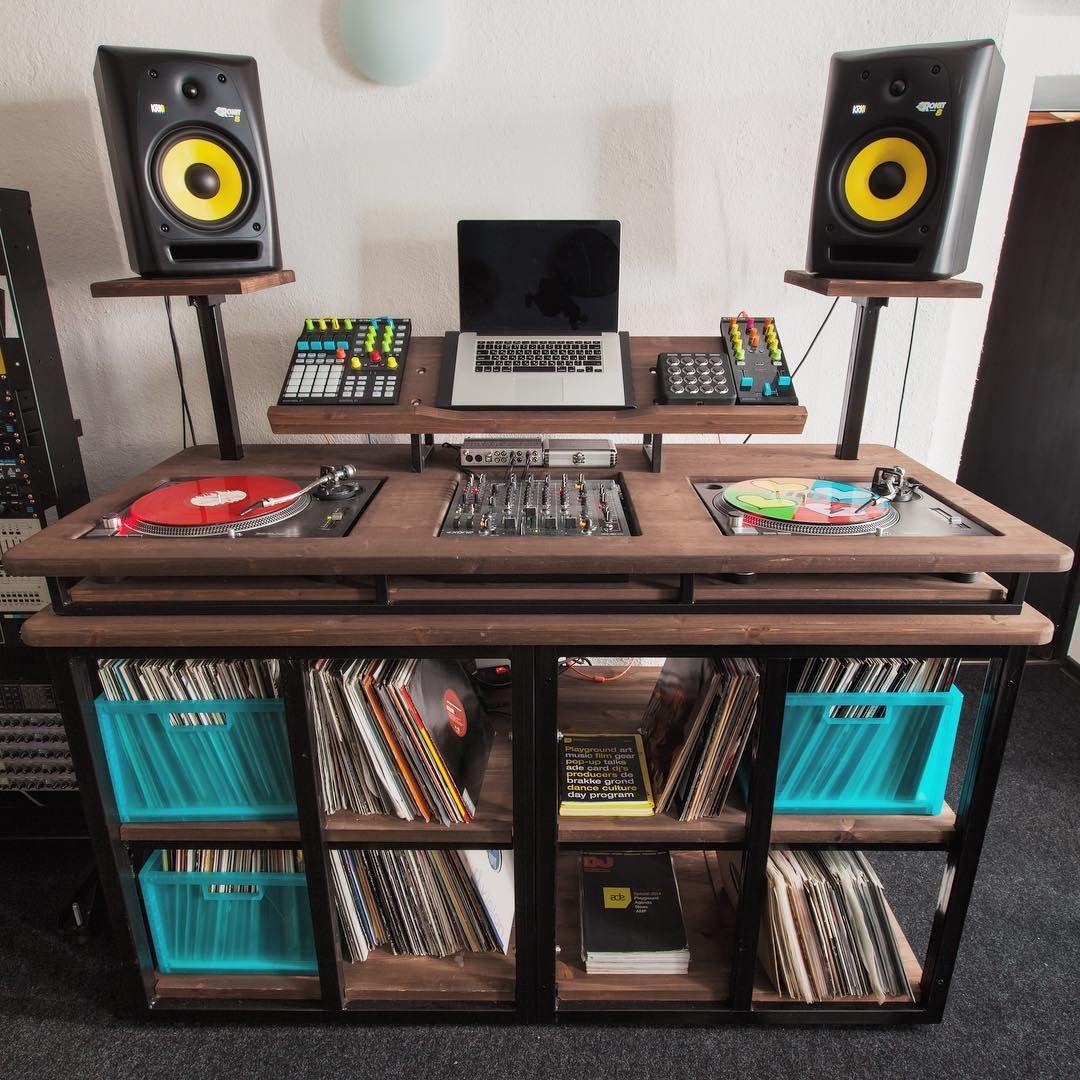 Best Pallet Projects Music Studio Room Dj Equipment
