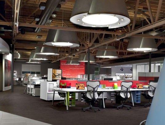 Herman Millers Triple Leed Platinum Certified Showroom In Los Angeles