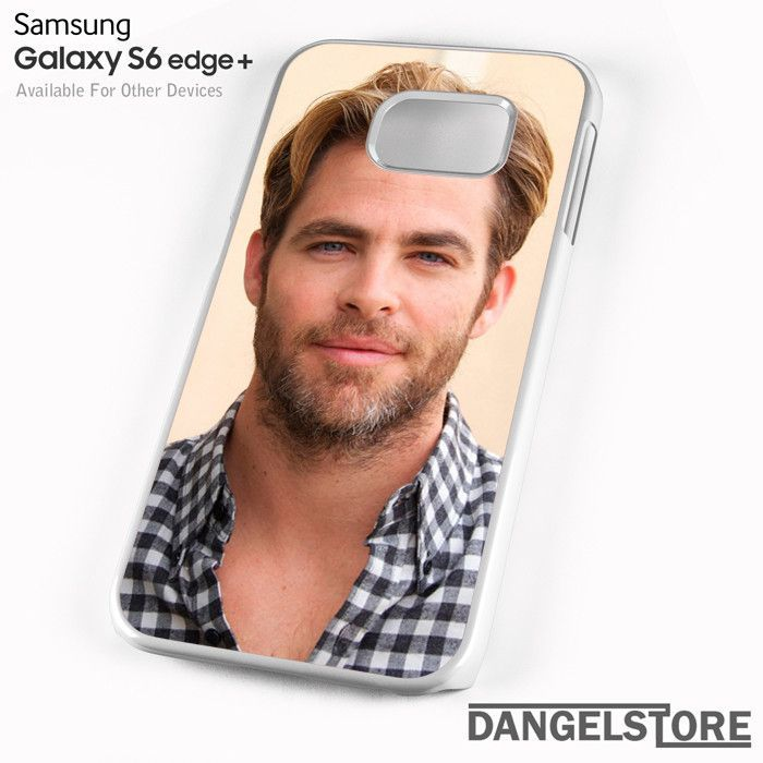 Chris Pine 6 For Samsung S6 Edge Plus Case