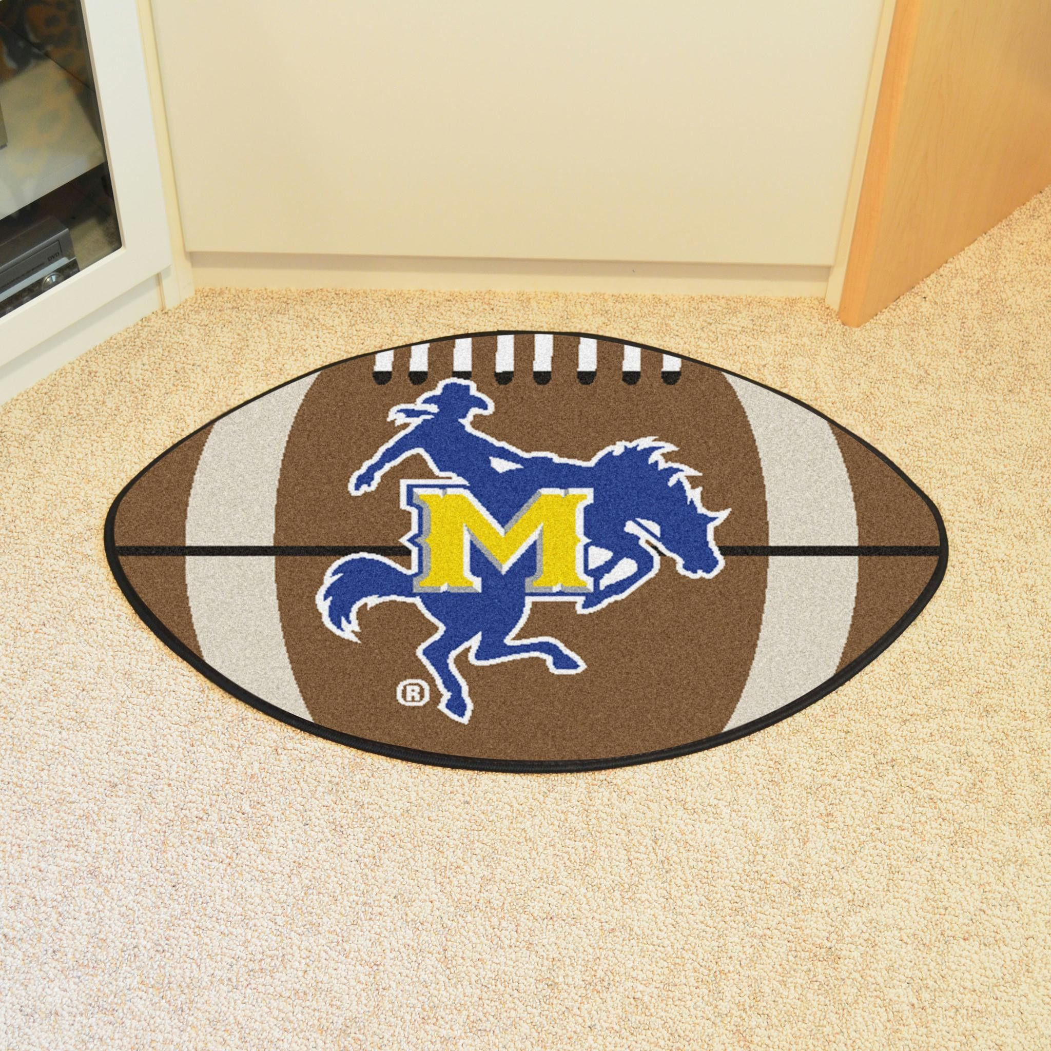 22eb1406d45 McNeese State Football Rug 20.5x32.5