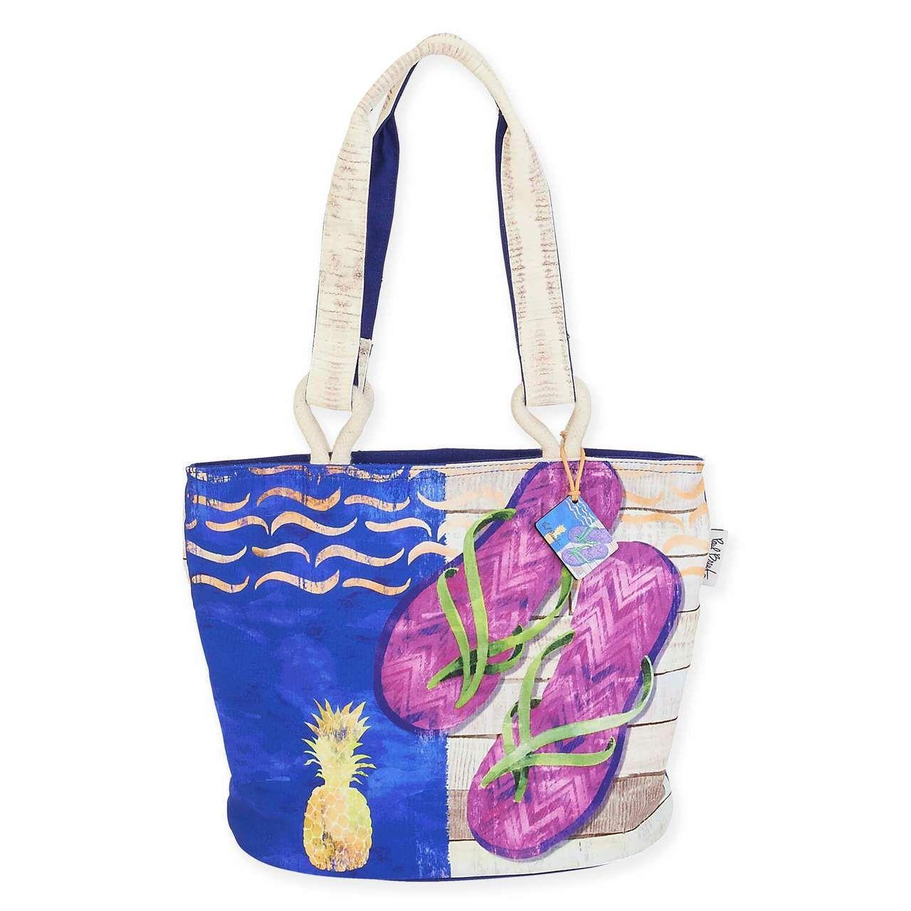 a6df6a64f544 Sunshine & Sandals Medium Tote Beach Bag   Products   Beach tote ...