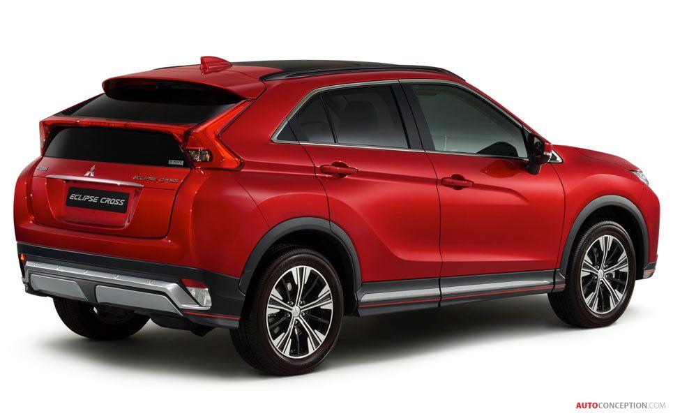 New Mitsubishi Eclipse Cross Suv Revealed Mitsubishi Eclipse Mitsubishi Eclipse