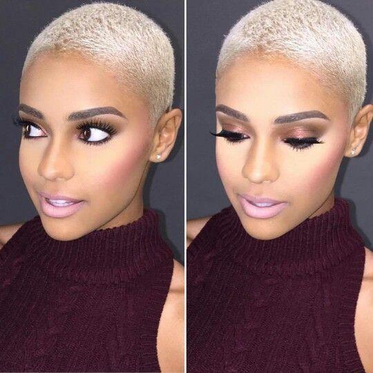 Twa Platinum Blonde Short Hair Short Blonde Hair Natural Hair