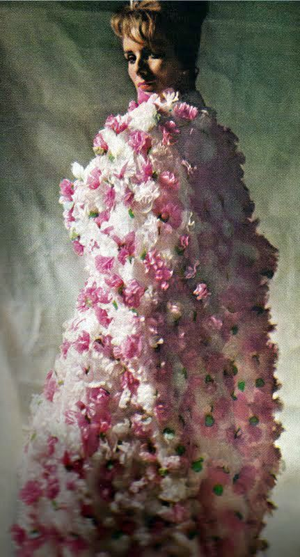 Balenciaga - Vintage - Robe 'Bouquet' - 1964