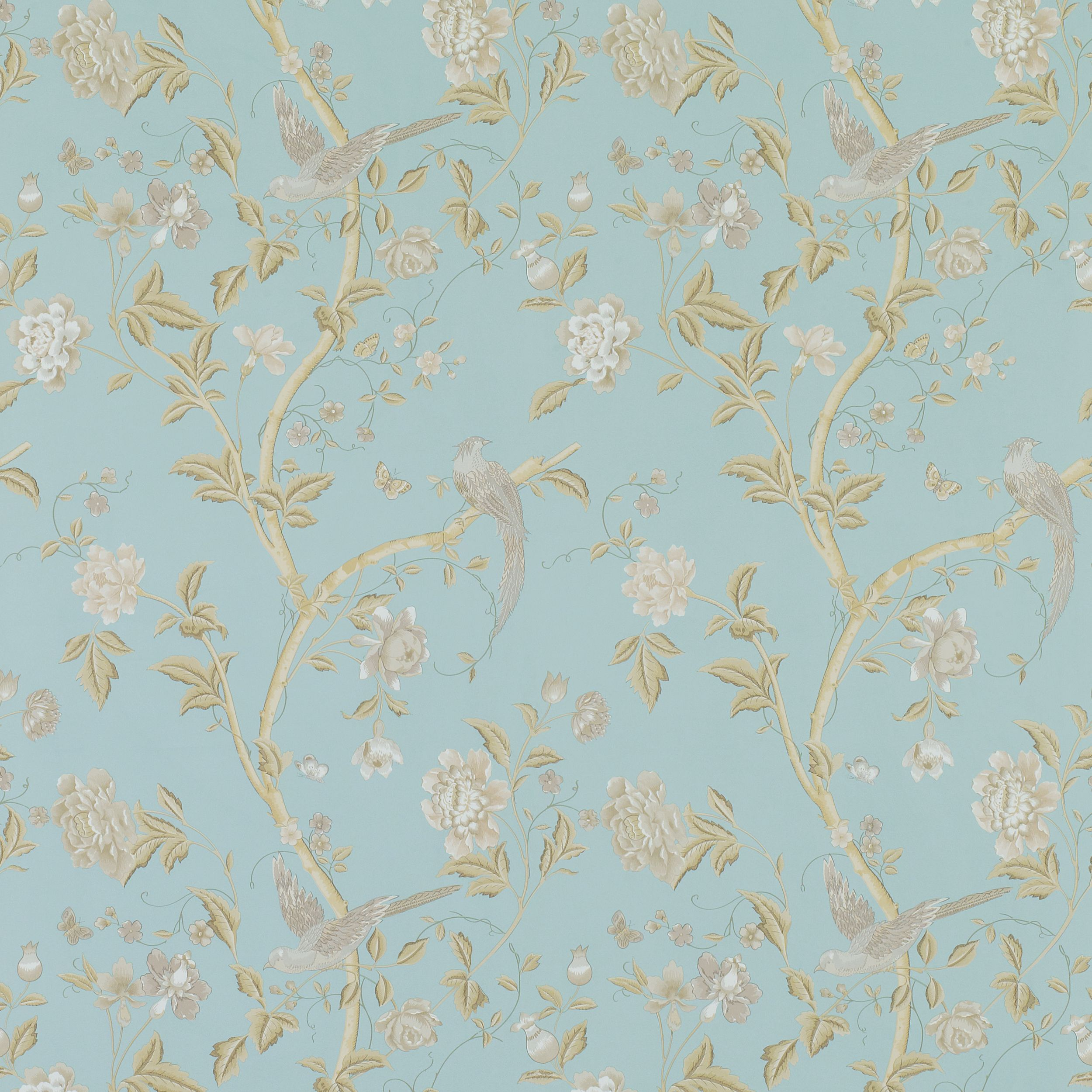 Love this wall paper for a girls room :) | home : ) | Pinterest ...