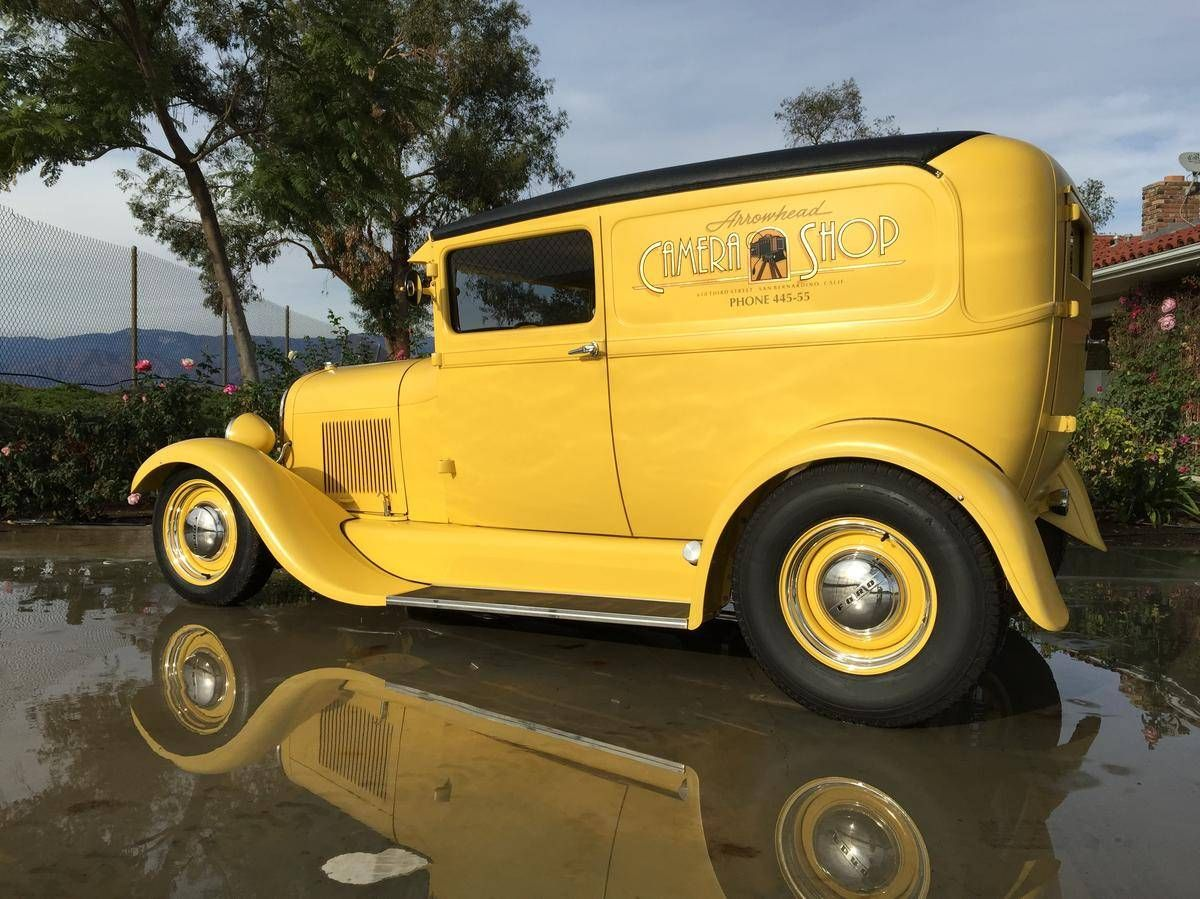 1928 Ford Model A Sedan Delivery For Sale 1703819 Hemmings Motor News Hot Rod Trucks Hot Rods Hot Cars