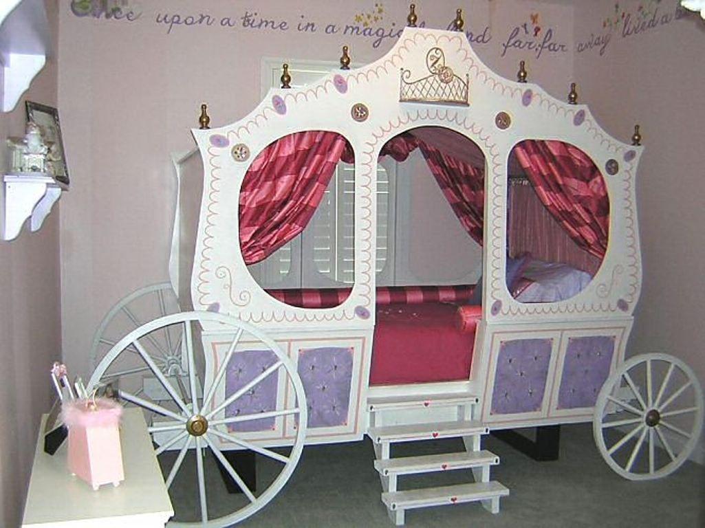 Best Cinderella Bed Grandiose Princess Carriage Bed 400 x 300