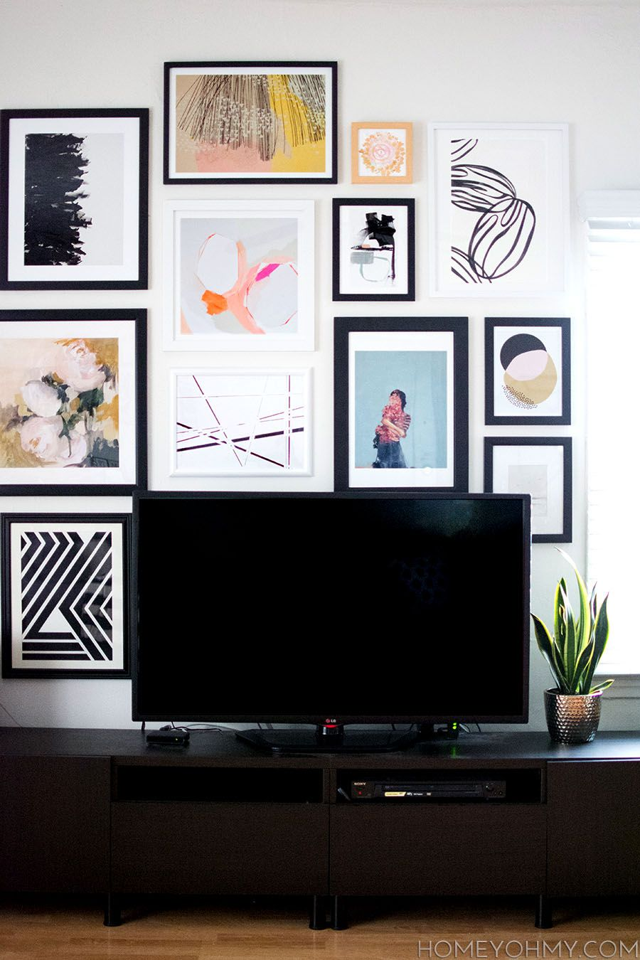 How to plan and hang a gallery wall gallery wall walls and galleries