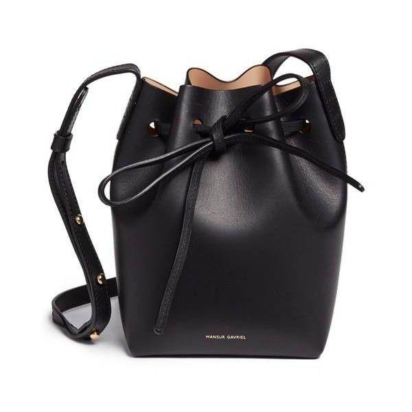 Pre-owned - Bucket Bag patent leather handbag Mansur Gavriel ArvKJ