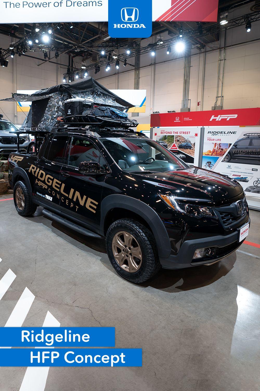 Honda Factory Performance Ridgeline Concept With Lifestyle Accessories At Sema2019 Honda Sema 2019 Honda Ridgeline