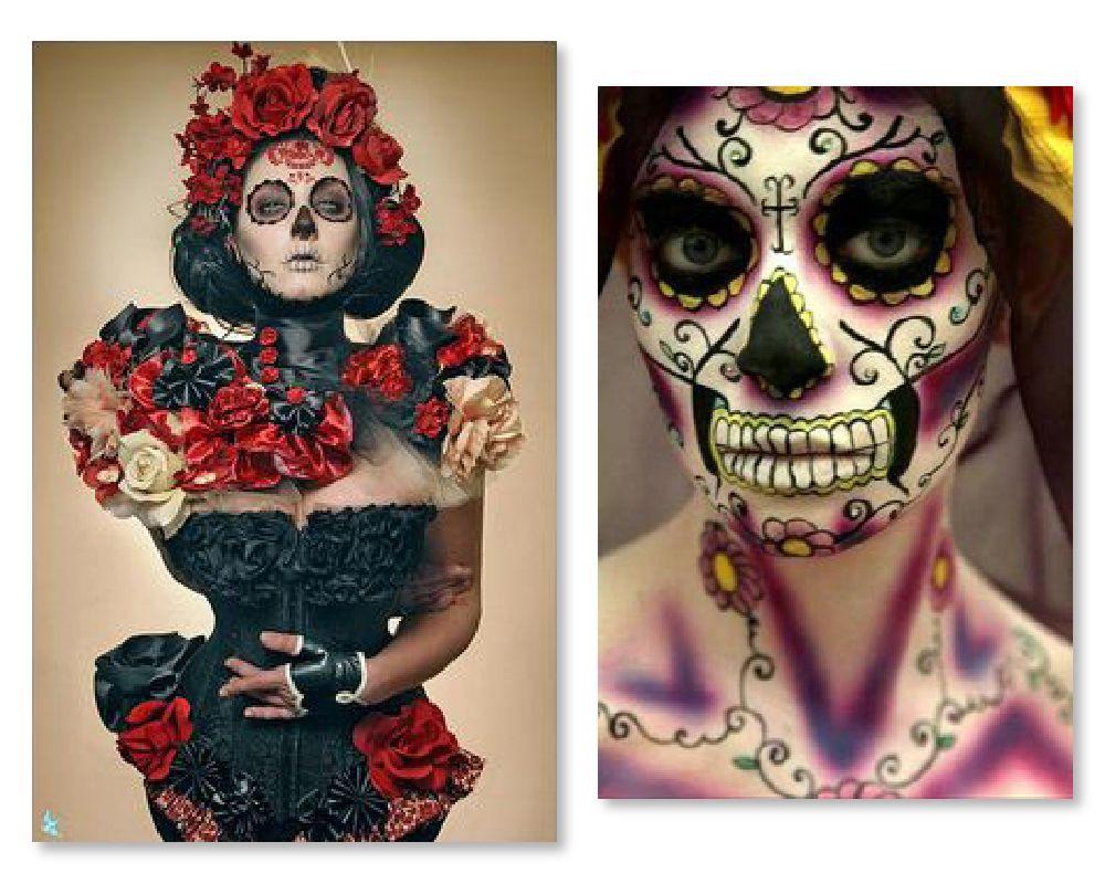 La muerte makeup