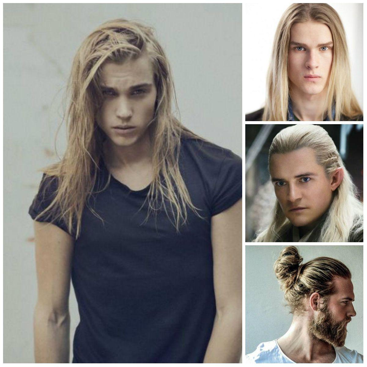 männer mit langen blonden haaren