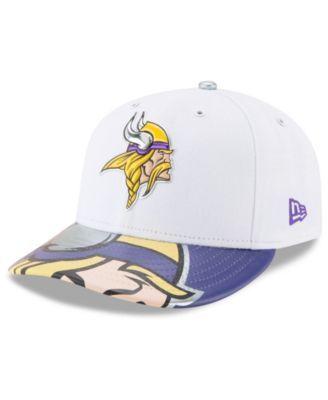 half off 998d1 68bf6 New Era Minnesota Vikings Low Profile 2017 Draft 59FIFTY Cap - Purple 7 1 2