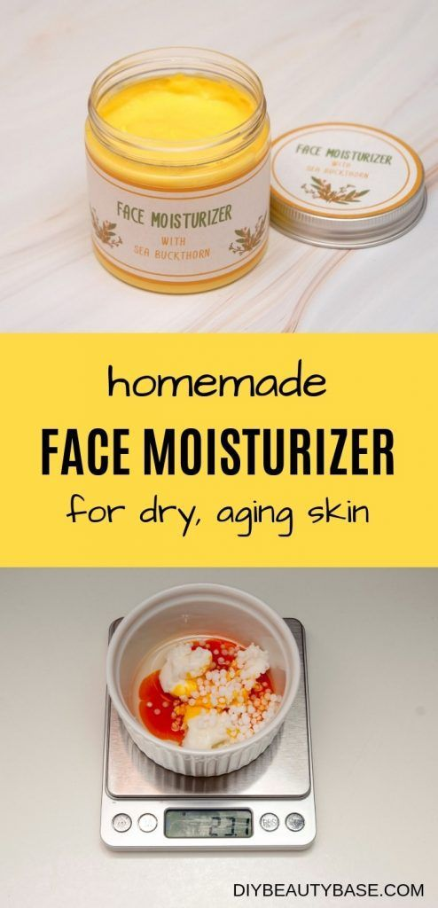 DIY Face Moisturizer: Hydrates, Heals, Regenerates - DIY Beauty Base #homemadefacelotion