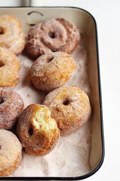 homemade buttermilk donuts