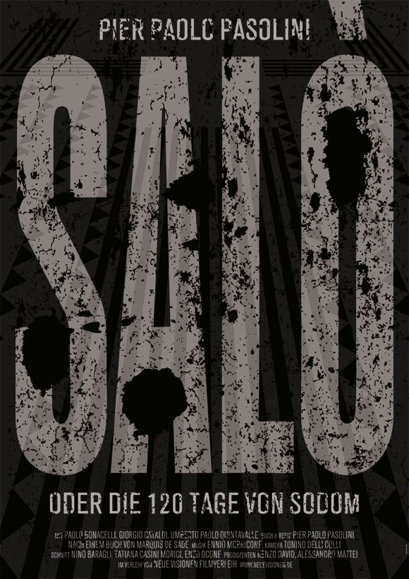 salo, or the 120 days of sodom (d. pier paolo pasolini)