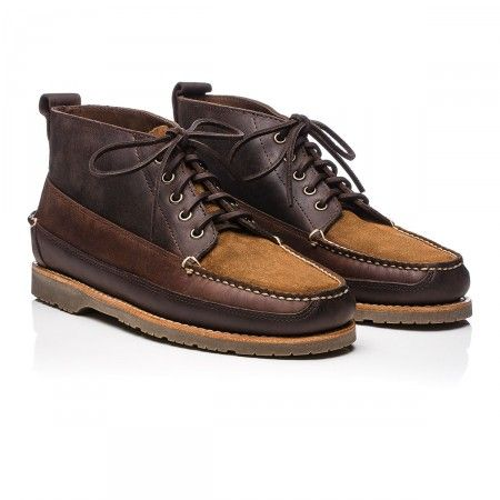 Mocassin Ranger II en cuir brun foncé - Soldes