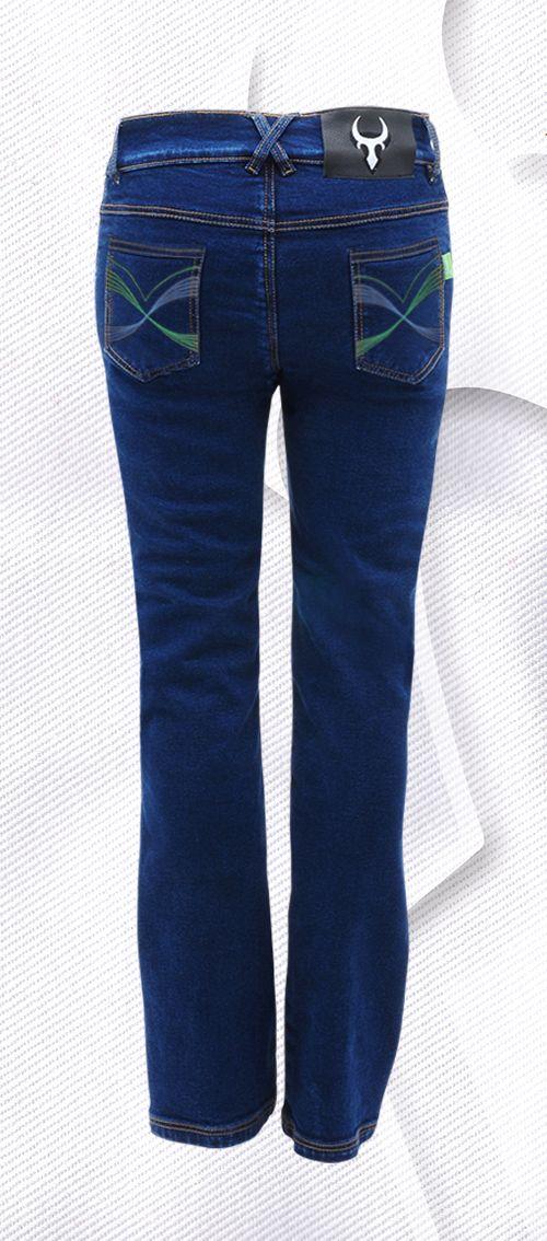 Bull-it SR6 Bondi Water Repellant Indigo Blue Ladies Motorcycle Jeans…