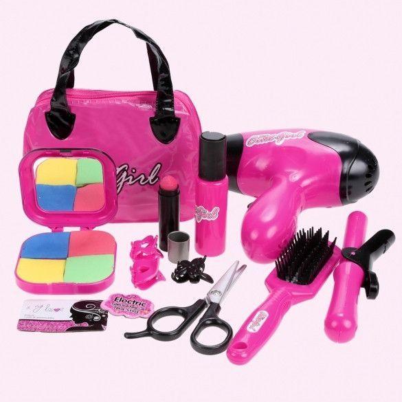 Children Kids Girls Pretend Play Makeup Kit Toys Gift Play ...