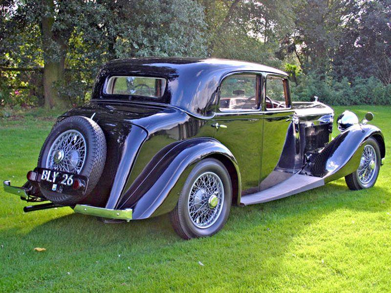 1935 Bentley 3.5 Litre Sports Saloon Auction - Classic Car ...