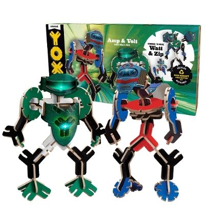 YOXO Sparks Creativity With Launch Of New Revolution Line Eco-Smart Toy Company Unveils New Line of Recyclable, Creative Construction Kits #YOXO #NYTF #STEM