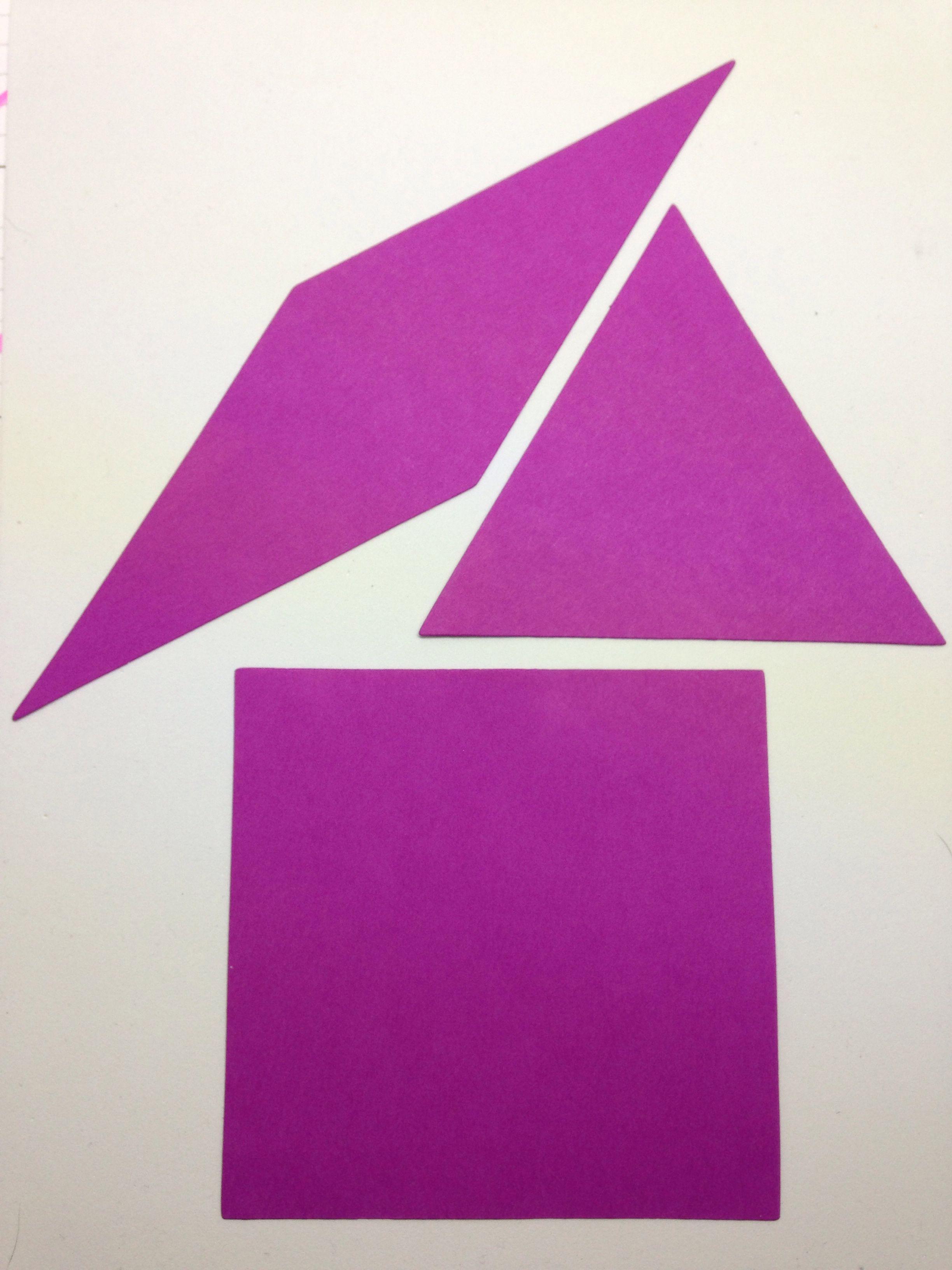 Rhombus/Triangle/Square 12cm - XL | Die Cuts- Math | Pinterest | Math