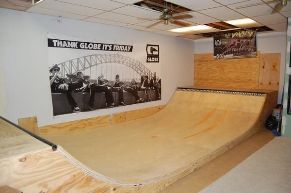 good idea in the basement maybe i should do this in my basement – Garage Mini Ramp Plans