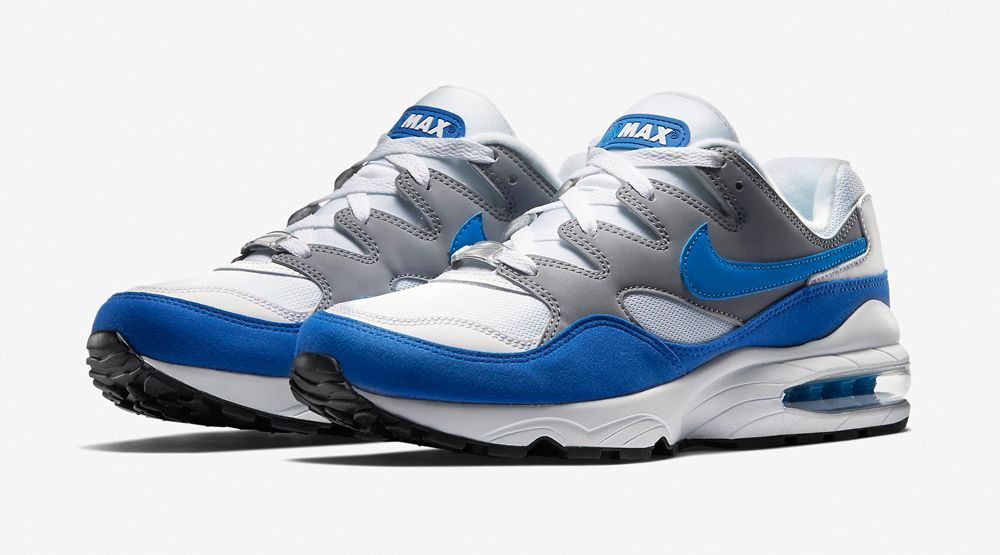 Nike Air Max 94 OG Wolf Grey White Game Royal Photo Blue