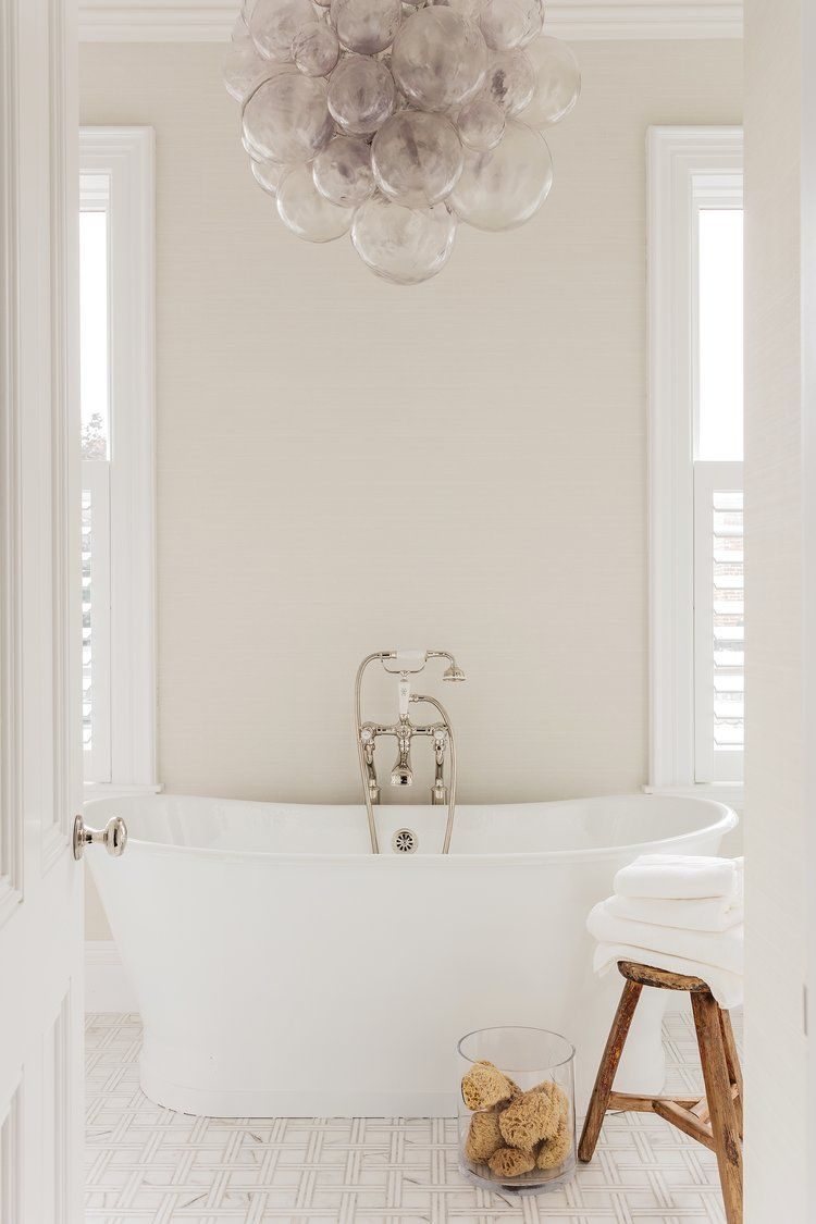 Bathroom Soaking Tub Bathroom Chandelier Bubble Chandelier