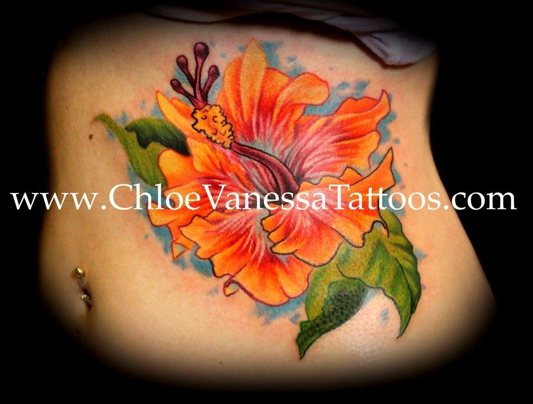 Orange hibiscus flower tattoo tattoos tattoos pinterest orange hibiscus flower tattoo tattoos izmirmasajfo Choice Image