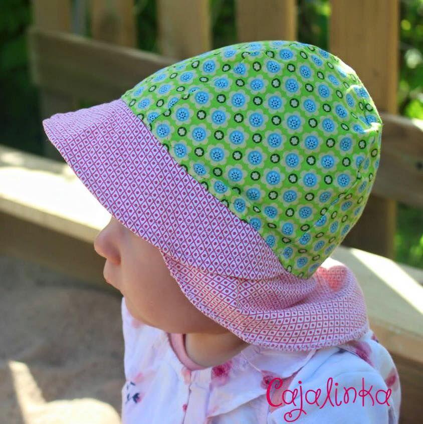 Freebook Kinder Hut Sommer   Nähen   Pinterest   Kopfbedeckungen ...
