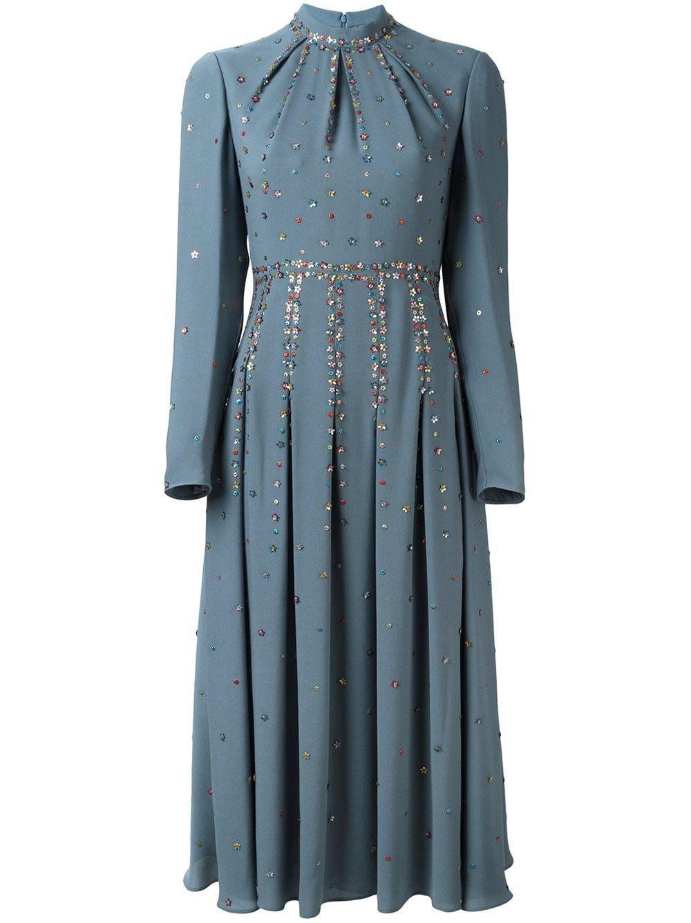Valentino embellished midi dress Source by Kres_Yu # ...