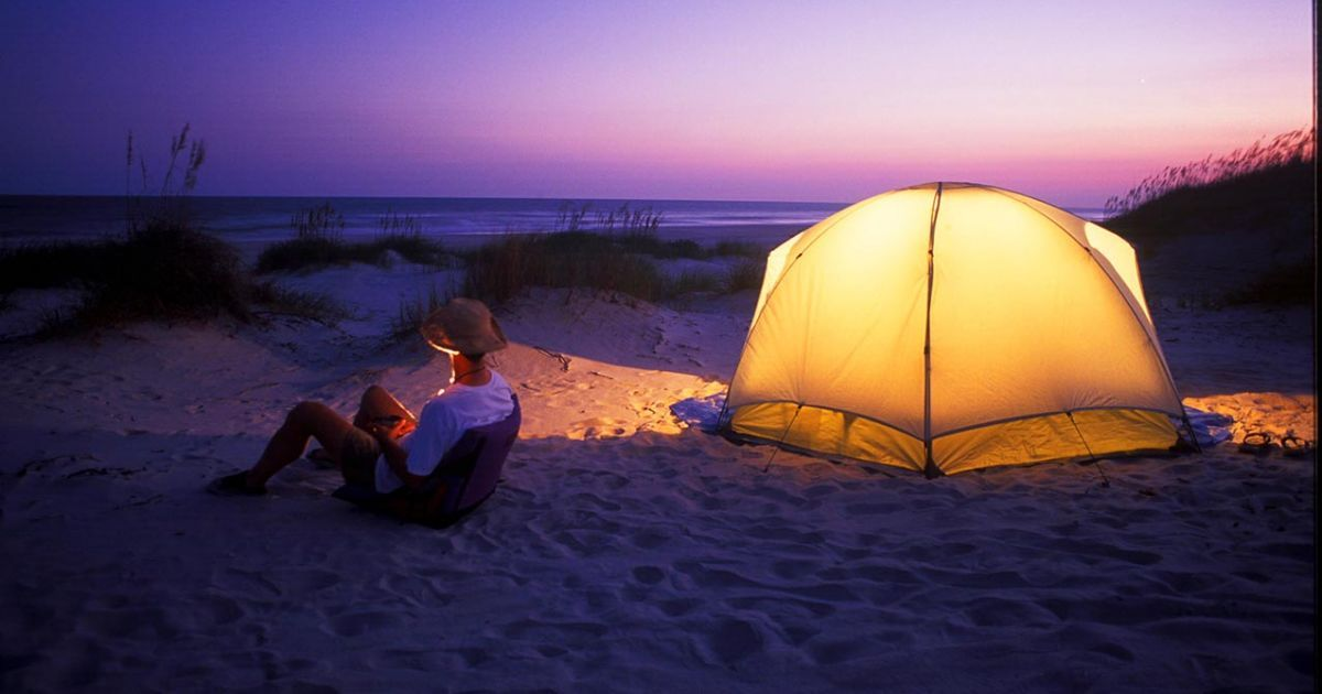 hammocks beach state park in swansboro offers numerous campsites from primitive to family friendly hammocks beach state park in swansboro offers numerous campsites      rh   pinterest