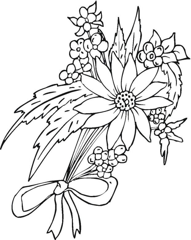 flower page printable coloring sheets flower 11 coloring page