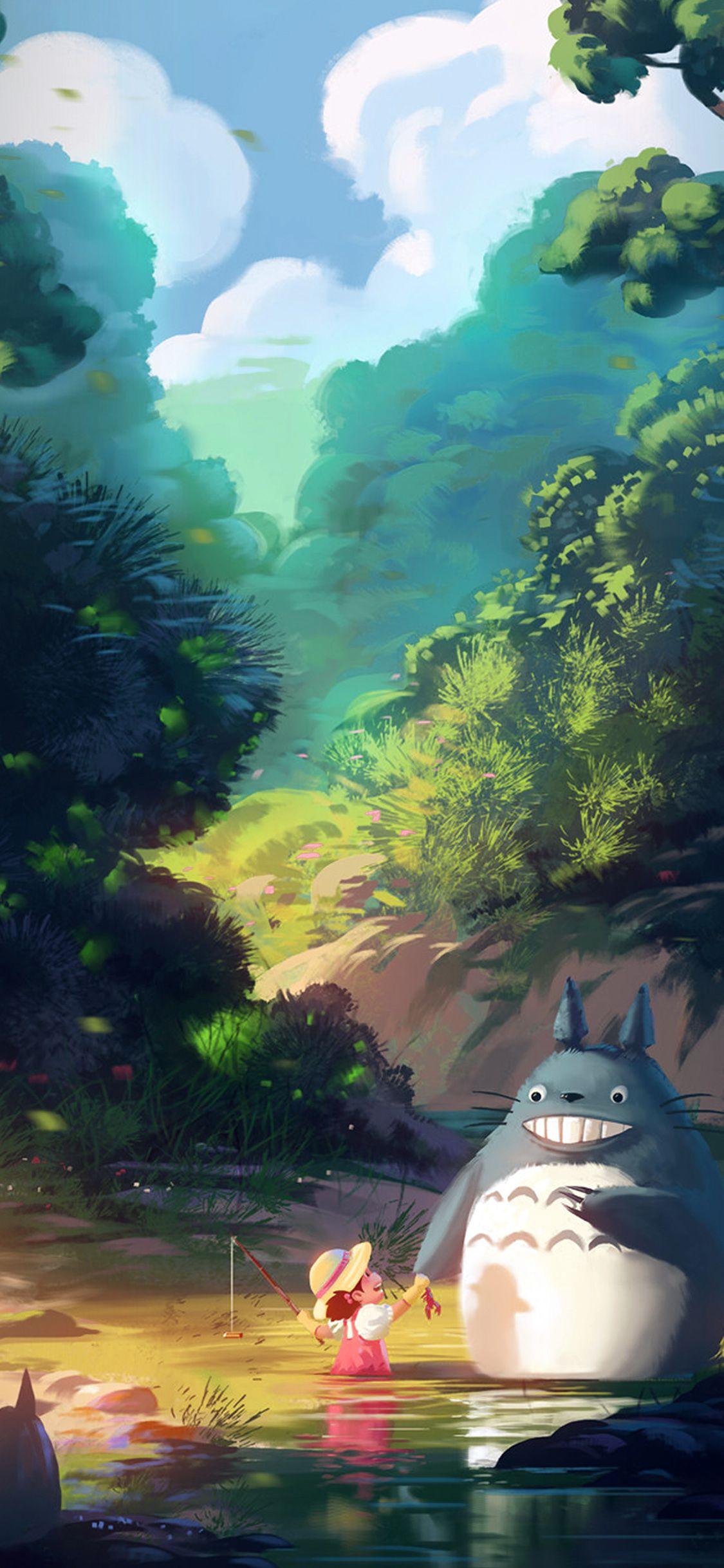 Pin By Ellyn Gotehsyah On Totoro In 2019 Illustration Art Totoro