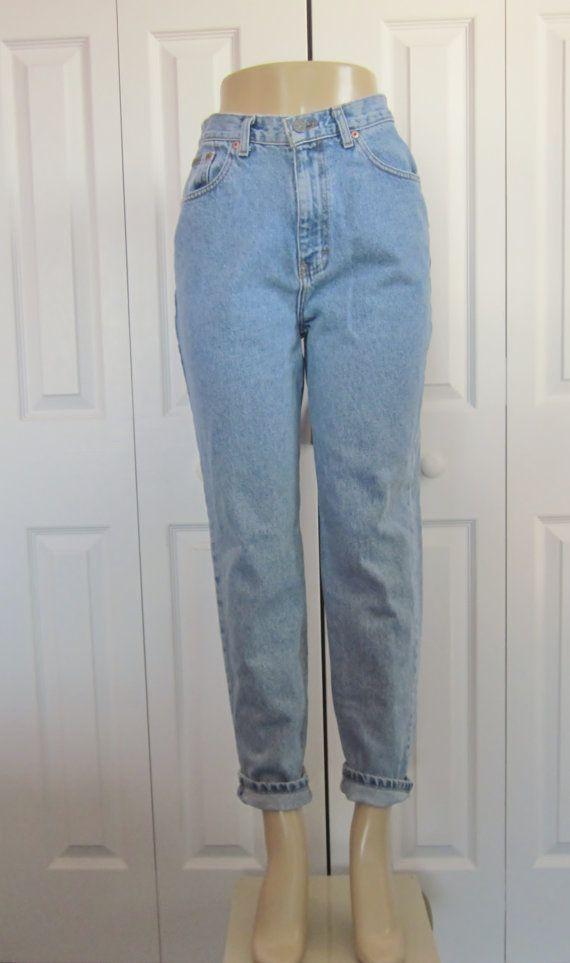 b8a7ba10062 Vintage Calvin Klein Jeans High Waisted Denim by GroovyGirlGarb