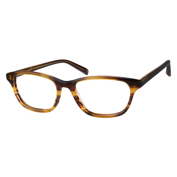 94f04a058dfd Zenni Womens Cat-Eye Prescription Eyeglasses Brown Tortoiseshell Plastic  4419115