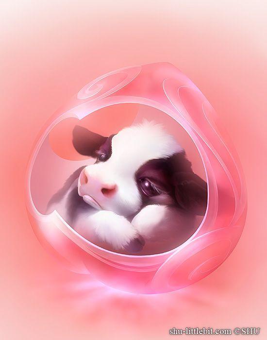 Сказочно красивые рисунки очаровательных животных - ⭐Kim⭐ - #Kim #животных #красивые #очаровательных #рисунки #Сказочно
