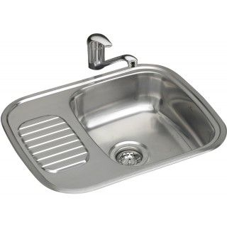 Reginox Stainless Steel Space Saver Kitchen Sink Tap Pack Selco