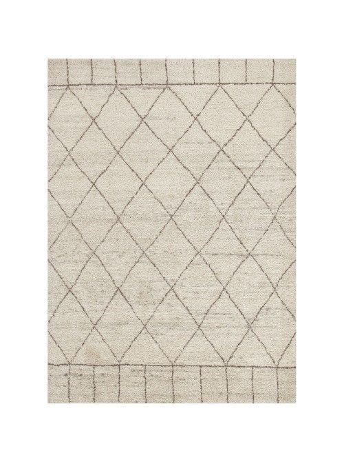 Zircon Rug, Oatmeal.Ultra plush on your toes and a soothing resting place for your eyes, this simple geometric lattice-patterned rug is perfect for an array of styles. Providing a neutral backdrop, it allows you to make a statement with your furniture and accessories. Pair with rich wood tones for a nice contrast.