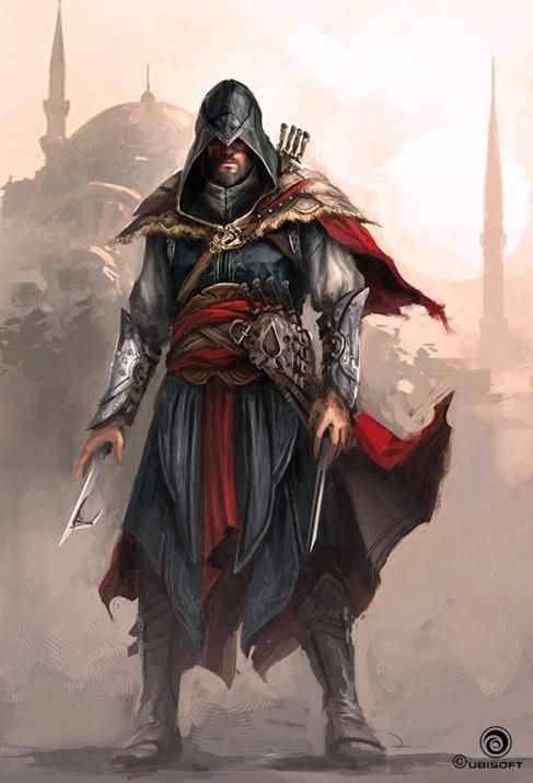 Ezio Auditore Da Firenze Gallery Assassins Assassins